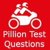 Motorcycle test pillion questions