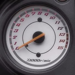 Motorcycle Rev Counter