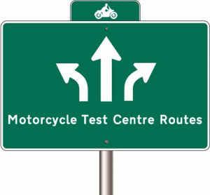 View motorcycle test routes for your local DVSA test centre