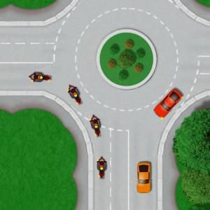 CBT element E roundabouts