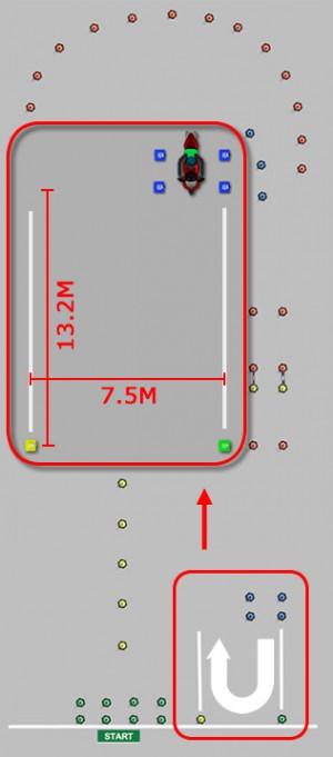 Module 1 U-turn Area