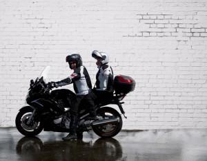 Motorcycle pillion passenger