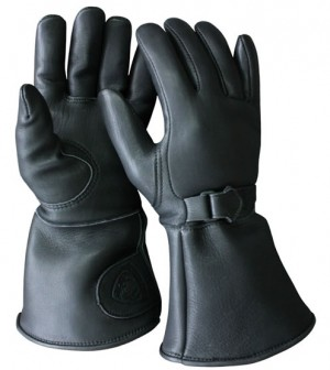 Classic style motorcycle gauntlets