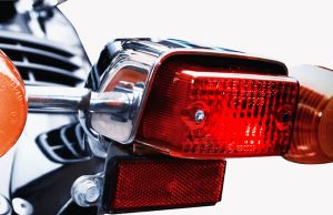 Motorcycle brake light