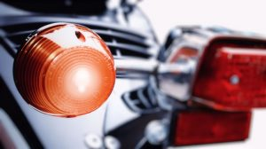Motorcycle indicators should be applied and timed correctly